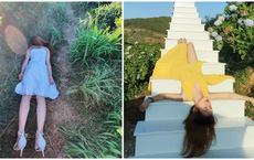 """Cô gái Huế khiến tất cả giật mình với bộ ảnh check-in Đà Lạt theo style """"không giống ai"""""""
