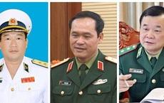 Chân dung 3 Tư lệnh vừa được Thủ tướng bổ nhiệm làm Thứ trưởng Bộ Quốc phòng