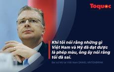 Đại sứ Mỹ tại Việt Nam: Chúng ta đã hoàn toàn gọi nhau là bạn bè một cách chân thành