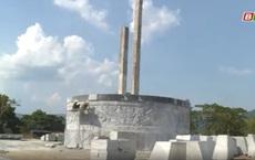Huyện miền núi nghèo xây tượng đài hơn 48 tỷ đồng