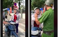"""Bị CSTT dừng xe, người phụ nữ cãi cự: """"Tôi chỉ đi ngược chiều 1- 2m thôi, lỗi gì?"""""""