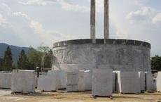 Huyện nghèo xây tượng đài 48 tỷ đồng: Công ty ở Hà Nội thi công phần mỹ thuật
