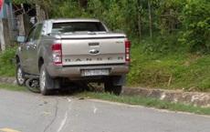 Vụ xe bán tải đâm cô gái bán măng tử vong: Tài xế là Trưởng phòng Tài nguyên môi trường huyện