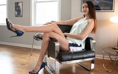 Cô gái có đôi chân dài thứ 2 thế giới tiết lộ chiều cao khi mới học lớp 1 khiến phụ huynh nào cũng kinh ngạc