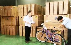 Trên 3.500 xe đạp Trung Quốc giả nguồn gốc Việt Nam xuất khẩu đi Mỹ