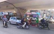 Xác định danh tính tài xế điều khiển xe ô tô kéo lê CSGT ở Hà Nội