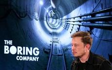 Elon Musk tổ chức cuộc thi 'xem ai đào đường hầm nhanh hơn ốc sên' vào năm tới