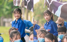 """Nữ sinh Nghệ An gây chú ý vì """"cái nhăn mặt"""" xinh đẹp trong kỳ thi tốt nghiệp THPT 2020"""