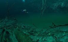 """Xuất hiện """"dòng sông ma"""" ở độ sâu 30m dưới nước"""