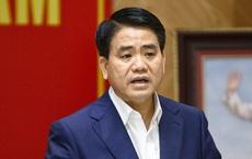 Chủ tịch Hà Nội Nguyễn Đức Chung bị điều tra liên quan ba vụ án
