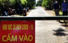 Bác sĩ khuyên nhủ một bệnh nhân mắc Covid-19 bỏ ăn ở Quảng Trị