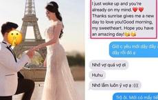 Ngôn tình chào buổi sáng được cho là của chồng gửi Âu Hà My toàn là văn copy từ Google