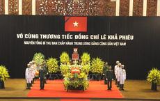 Cử hành trọng thể Lễ Quốc tang nguyên Tổng Bí thư Lê Khả Phiêu
