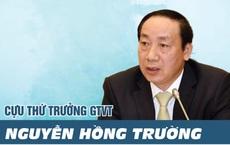 Ông Nguyễn Hồng Trường, từ Thứ trưởng Bộ GTVT đến vòng tố tụng