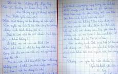 Xúc động lá thư con gái nhỏ gửi ba đang làm nhiệm vụ trong khu cách ly