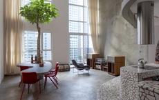 Chiêm ngưỡng căn nhà với lối thiết kế đương đại độc đáo tại Tp.HCM