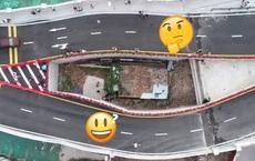 Dân không chịu giải tỏa, thành phố Trung Quốc bèn cho xây cầu bao quanh nhà