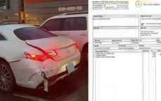 'Sốc' với tiền công thay bình xăng trên Mercedes-Benz S 400 Coupe từng gặp tai nạn tại Việt Nam
