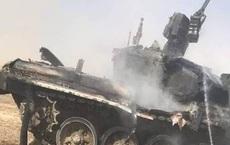 Xe tăng T-90 Nga bị tên lửa bắn cháy trong tình huống đầy bất ngờ