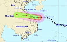 Gió giật cấp 11, bão số 5 đang trên vùng biển Quảng Bình - Quảng Nam, sẽ đổ bộ đất liền trong sáng và trưa nay
