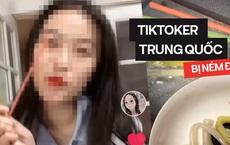 SỐC: TikToker Trung Quốc làm clip ăn ống hút nhặt từ thùng rác, cư dân mạng bình luận đã có trẻ con đòi bắt chước làm theo?