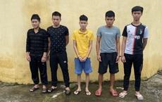 2 nhóm thanh niên cầm dao, gạch lao vào hỗn chiến kinh hoàng