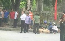 Nam thanh niên điều khiển xe máy không chấp hành hiệu lệnh, tông chiến sĩ CSGT gục trên đường