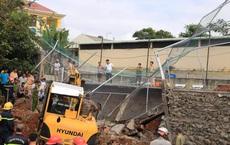 Sập bờ kè ở trụ sở Phòng CSGT tỉnh Đắk Nông, 1 người tử vong