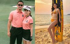 Chân dung nữ MC thể thao đi nhầm sân golf lấy được chồng đại gia