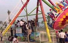 Tai nạn tàu lượn tại khu vui chơi Đảo Ngọc Xanh, 1 em nhỏ tử vong, 2 em bị thương