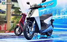 Cận cảnh chiếc xe máy VinFast Theon mới tinh cạnh tranh với Honda SH