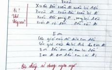 Học trò 'tức cảnh sinh tình', sáng tác thơ trong vòng 5 phút, giáo viên thẳng tay phê: Bậc thầy ngôn ngữ!
