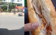 Mua bánh mì giá 'cắt cổ' ở 'khu người giàu', anh tài xế xe ôm công nghệ sốc nhẹ, cả ngày chỉ cầm chứ không dám ăn