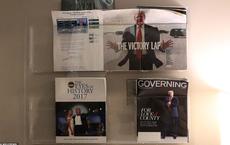 Nhà Trắng trống trải khi TT Trump rời đi: Tạp chí in hình ông được để lại văn phòng báo chí