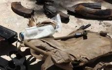 Clip: Thót tim màn đột kích kho vũ khí ngầm IS bỏ lại ở Syria của Nga