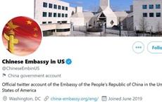 """Twitter bất ngờ khóa tài khoản của Đại sứ quán Trung Quốc tại Mỹ vì 1 dòng tweet """"vi phạm quy định"""""""