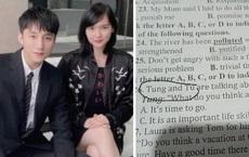 Sơn Tùng - Hải Tú bị réo tên cả trong đề thi tiếng Anh của học trò: Thầy cô bắt trend nhanh thế này ai làm lại?