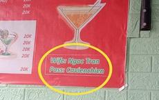 Vào quán nước muốn xin pass Wi-Fi, cô gái bật cười vì lỗi nhầm nhọt siêu đáng yêu trên tấm biển