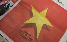 """Báo quốc tế in quốc kỳ Việt Nam trên nguyên trang và dành 6 trang nói về """"Ngôi sao đang lên của châu Á"""""""