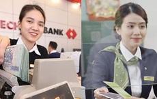 So găng thu nhập nhân viên Vietcombank và Techcombank