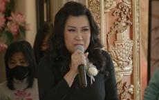 Vợ cũ Bằng Kiều òa khóc nức nở trong tang lễ khi tuyên bố: Phi Nhung là em ruột của tôi