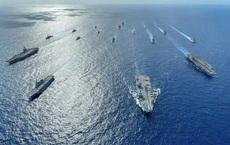 """Vừa choáng váng vì đòn đánh bất ngờ, Trung Quốc lại bị 3 tàu sân bay, 15 tàu chiến """"vây hãm"""""""