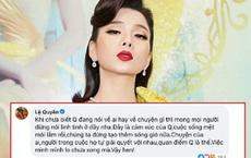 Netizen nghi Lệ Quyên ẩn ý nhắc tới lùm xùm cát-xê Hồ Văn Cường, chính chủ lên tiếng đính chính ngay!