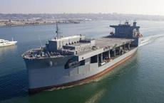 Mỹ đưa 'căn cứ di động' khổng lồ đến Nhật Bản