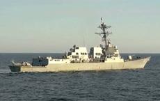 Nga: Triệu tùy viên quân sự Mỹ về sự cố tàu khu trục Mỹ tiếp cận lãnh hải Nga
