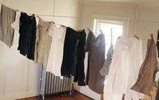 7 mẹo cực hay giúp quần áo khô nhanh trong những ngày mưa ẩm