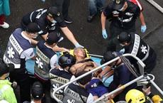 """""""Tòa nhà ma"""" chấn động Đài Loan: Biển lửa kinh hoàng hé lộ """"khối u"""" rung lắc cả hòn đảo"""