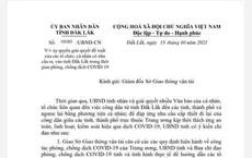 Đắk Lắk: Người dân phải đến Sở GTVT nếu muốn xin giấy xác nhận ra vào tỉnh!