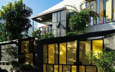 Ngôi nhà làm mặt tiền 'mỏng như lá lúa'