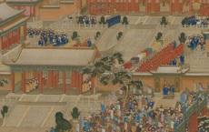 Phóng to 100 lần bức tranh sứ thần dâng cống phẩm cho Càn Long, hậu thế không thể tin vào mắt mình: Hóa ra chỉ là tự biên tự diễn!